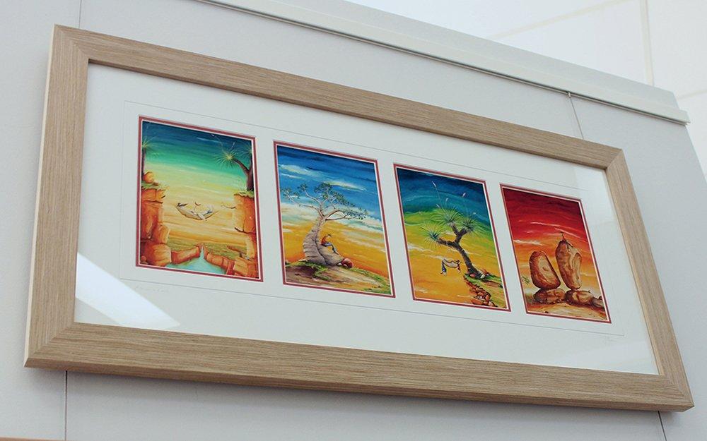 Peter Ryan Arts Edge Framed Prints