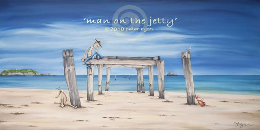 Man on the Jetty